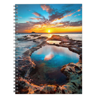 Sunset by Sea Notebook