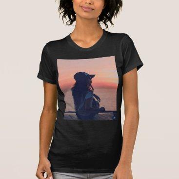 Beach Themed sunset by the beach T-Shirt