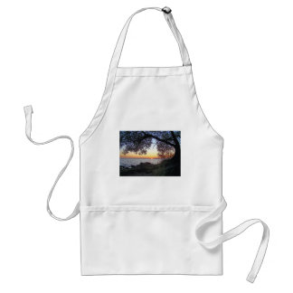 Sunset By The Lake Adult Apron
