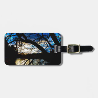 Sunset by the Lake Bag Tag