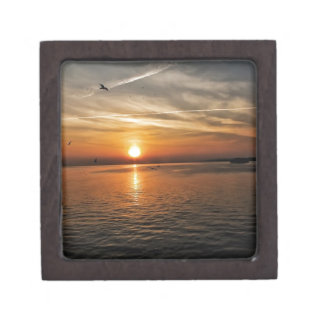 Sunset by the Sea Premium Keepsake Boxes