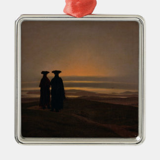 Sunset  c.1830-35 metal ornament