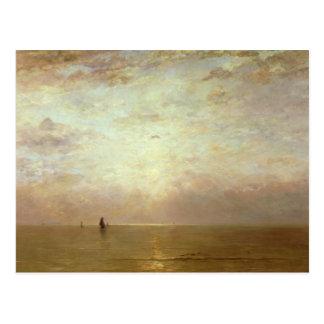 Sunset, c.1887 postcard