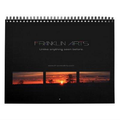 Sunset Calendar 2012