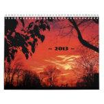 Sunset Calendar ~ 2013 ~