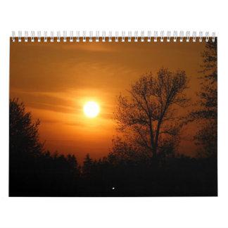Sunset Calender Calendar