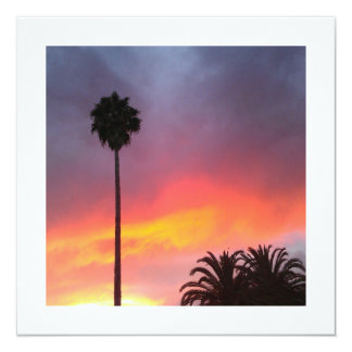Sunset California Card