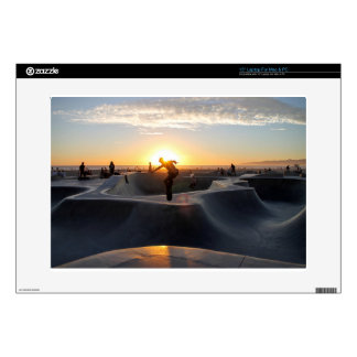 Sunset California Dreams Skateboard Park Freestyle Decal For Laptop