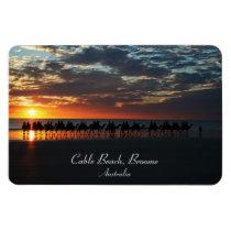 Sunset Camel Ride, Broome, Western Australia Magnet