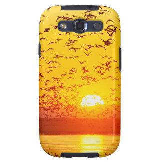 Sunset Canada Tule Lake Refuge California Galaxy SIII Covers