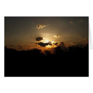 Sunset Card I