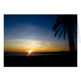sunset cards