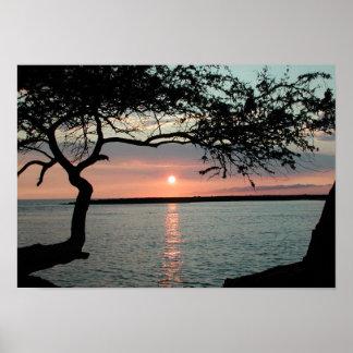 Sunset Carmel, Ca. Poster