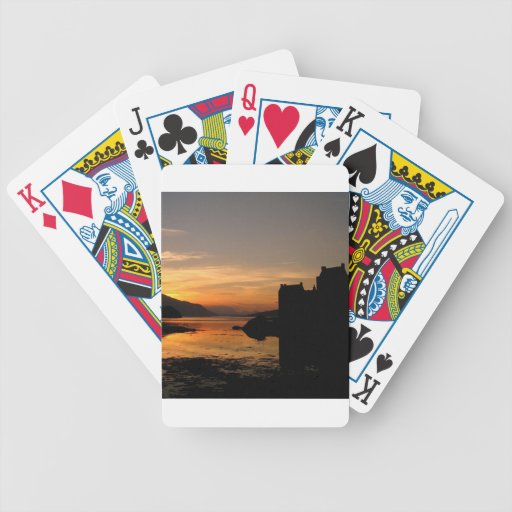 Sunset Castle Waters Bicycle Card Deck