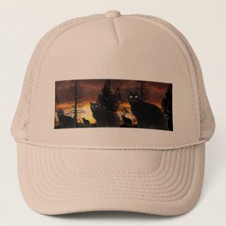 Sunset Cats Hat