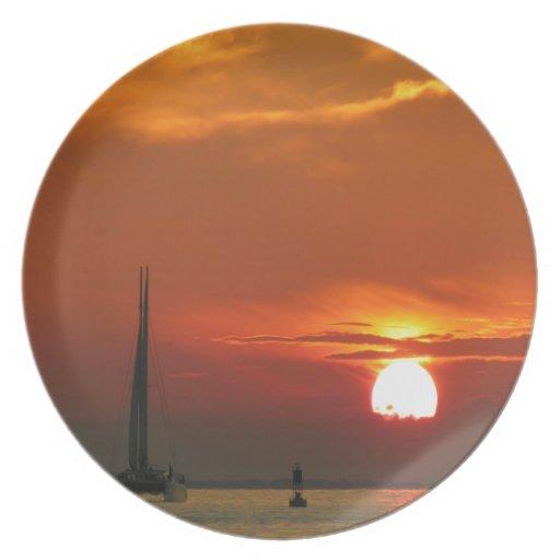 Sunset Celebration Plate