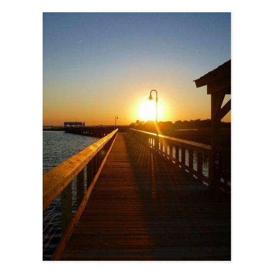 Sunset Charleston SC  Mouse Pad Postcard