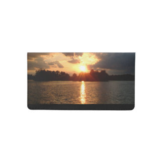 Sunset Checkbook Cover