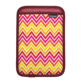 Sunset Chevron Stripe iPad Mini Sleeve