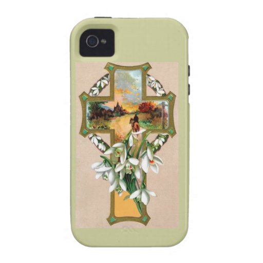 Sunset Christian Cross Case-Mate iPhone 4 Cover