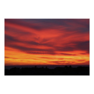 Sunset, Christmas Eve, 2006 Print