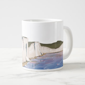 Sunset Cliffs by the Ocean Large Coffee Mug