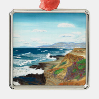 Sunset Cliffs Christmas Tree Ornament