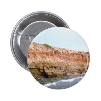 Sunset Cliffs San Diego CA Pinback Button