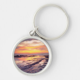 Sunset Cliffs tide pools Keychain