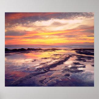 Sunset Cliffs tide pools Poster