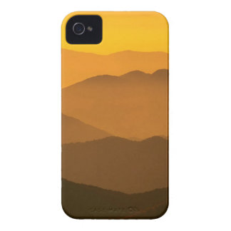 Sunset Clingmans Dome Mountains North Carolina iPhone 4 Case-Mate Cases