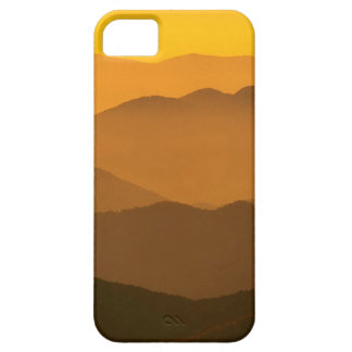Sunset Clingmans Dome Mountains North Carolina iPhone 5 Case