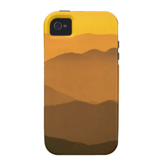 Sunset Clingmans Dome Mountains North Carolina iPhone 4/4S Cases