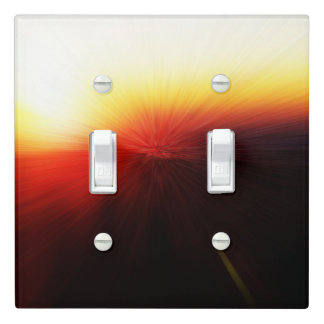 Sunset Clingman's Dome Smokey Mountains Light Switch Cover