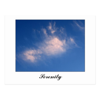 Sunset Cloud Postcard