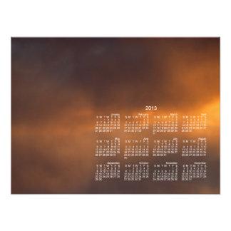 Sunset Clouds 2013 Calendar Photo