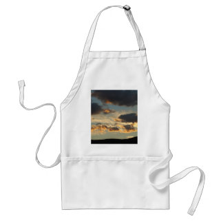 Sunset Clouds Adult Apron