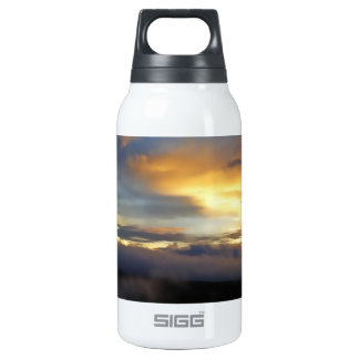 Sunset clouds at God's Window 10 Oz Insulated SIGG Thermos Water Bottle