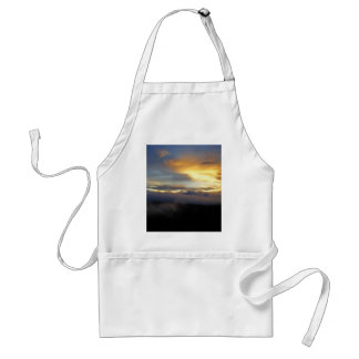 Sunset clouds at God's Window Adult Apron