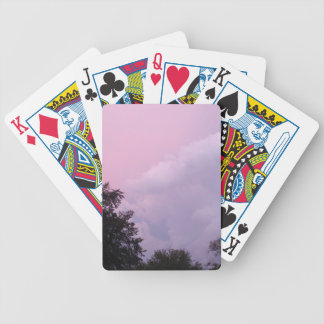 Sunset Clouds Bicycle Playing Cards