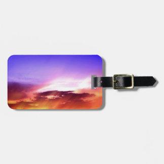 Sunset Clouds & Blue Sky Bag Tag