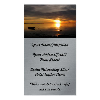 Sunset Clouds Business Cards