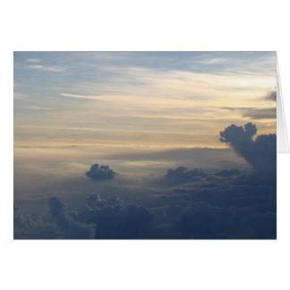 Sunset Clouds Card