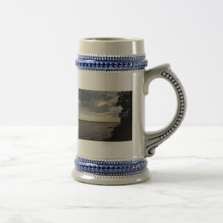 Sunset Clouds Cayuga Lake NY Beer Stein