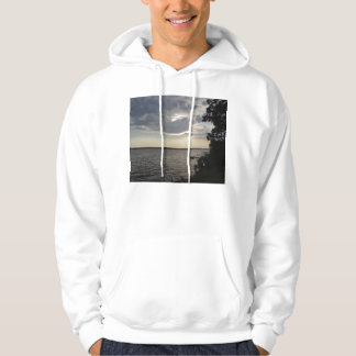 Sunset Clouds Cayuga Lake NY Hoodie