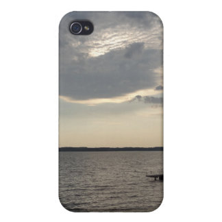 Sunset Clouds Cayuga Lake NY iPhone 4/4S Cover