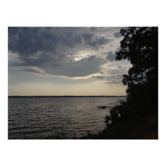 Sunset Clouds Cayuga Lake NY Print