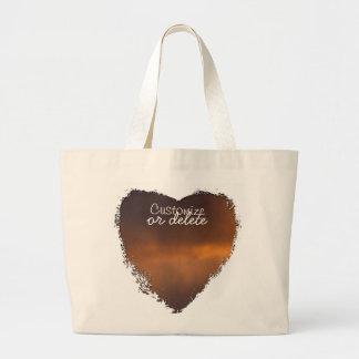 Sunset Clouds; Customizable Bag
