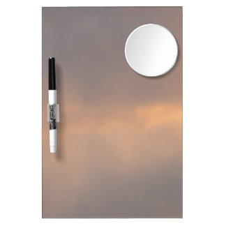 Sunset Clouds Dry Erase Board With Mirror