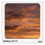 Sunset Clouds I Colorful Abstract Sky Photography Room Graphic